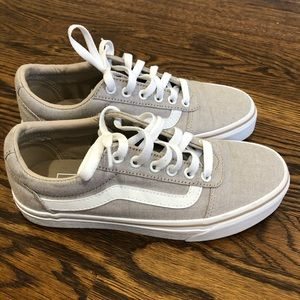 Vans Taupe Size 7